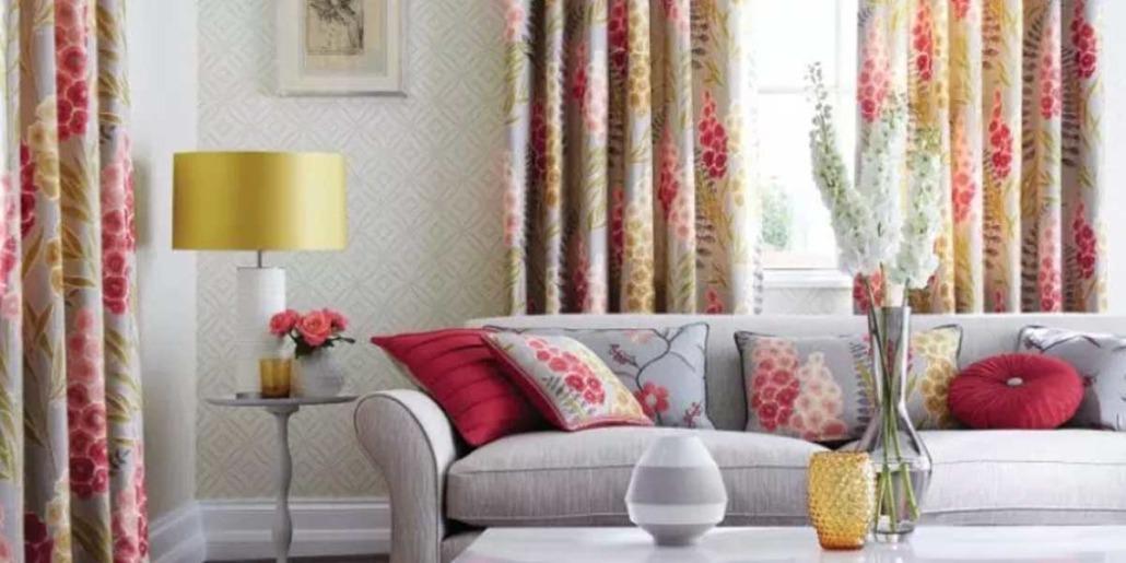 Living Room Interior harlequin