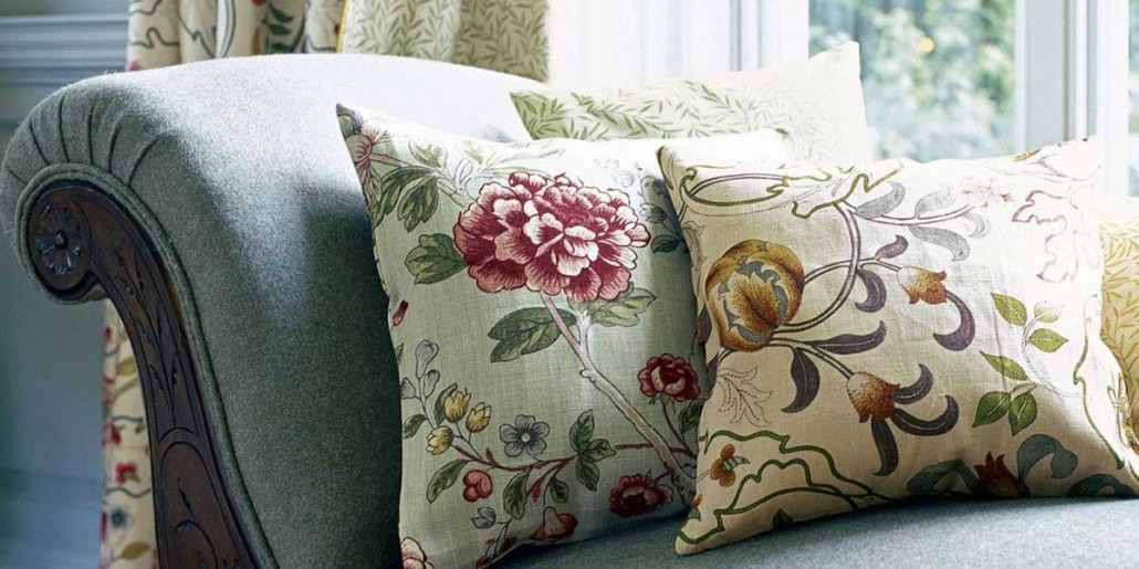 William Morris fabrics and wallpaper